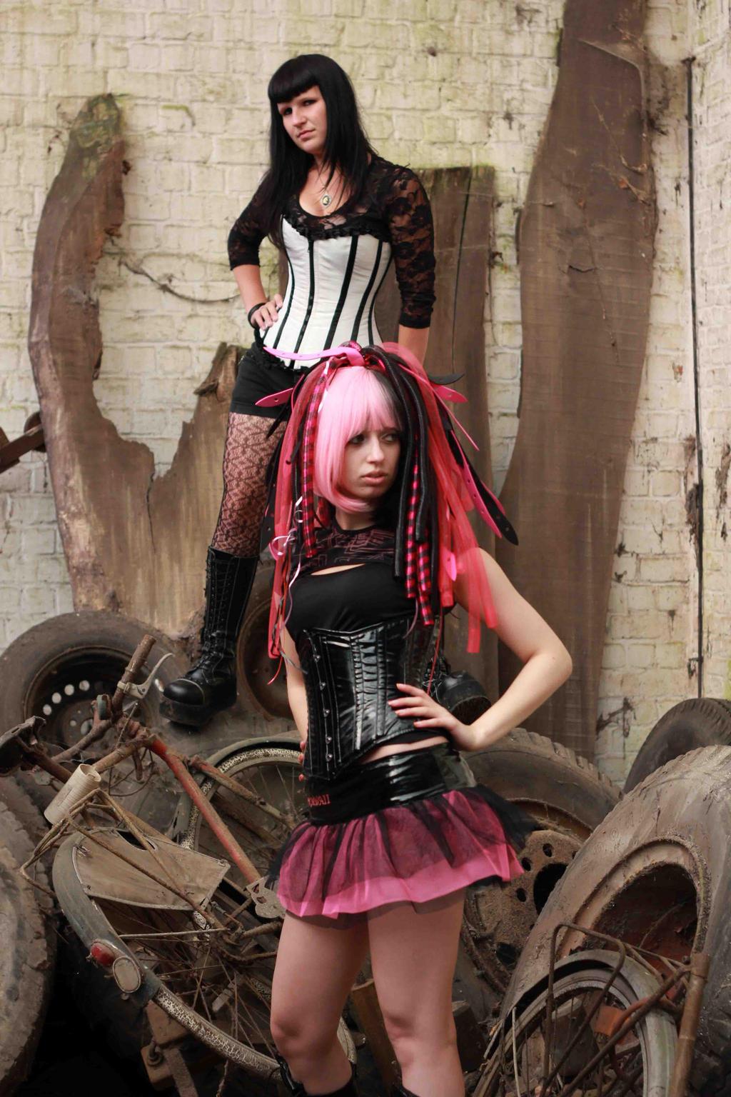Alternative Girls by Kawaii-x-Stock
