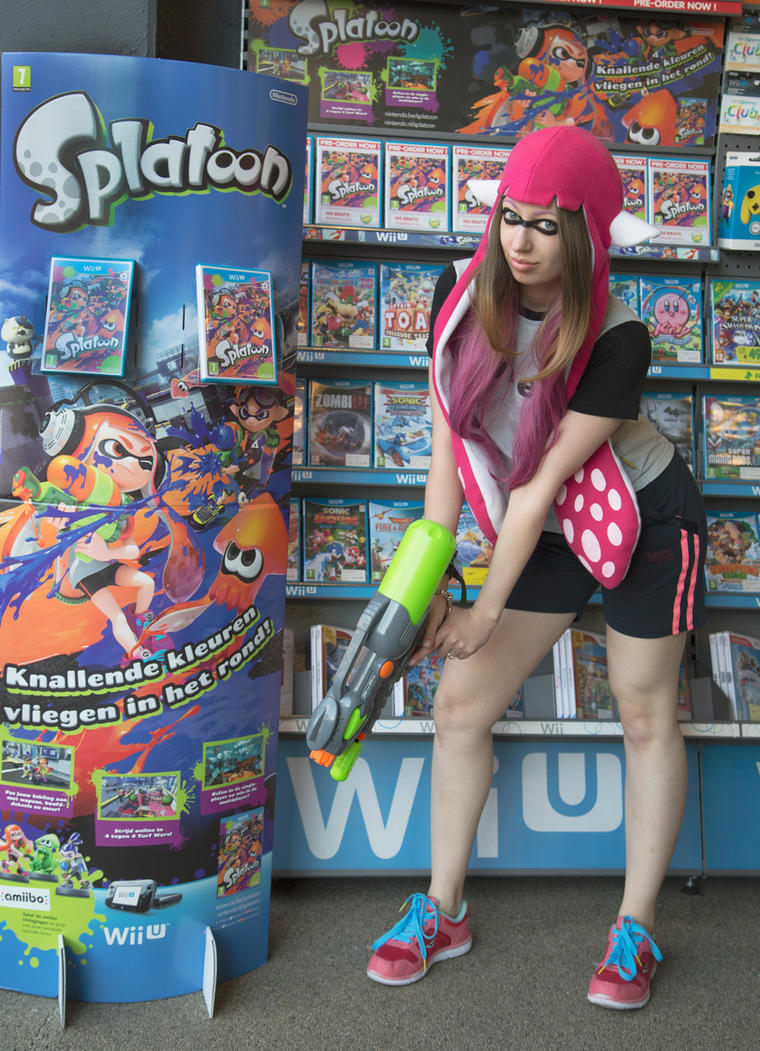 Splatoon Cosplay by Kawaii-x-Stock