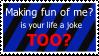 KR Stamp: Roast a Bully by zirukurt01