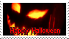 KR Stamp: Happy Halloween (Blood) by zirukurt01