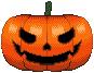 Jack-o-Lantern Pixel Art by zirukurt01