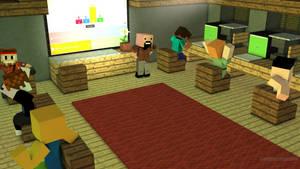 Minecraft Meets Other Fandoms by zirukurt01