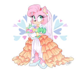 Amy the Bride [Link to Speedpaint]