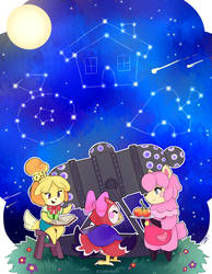 Animal Crossing - Look To The Stars by cloudypouty