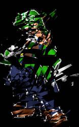 Abstract Luigi by jjthomo94