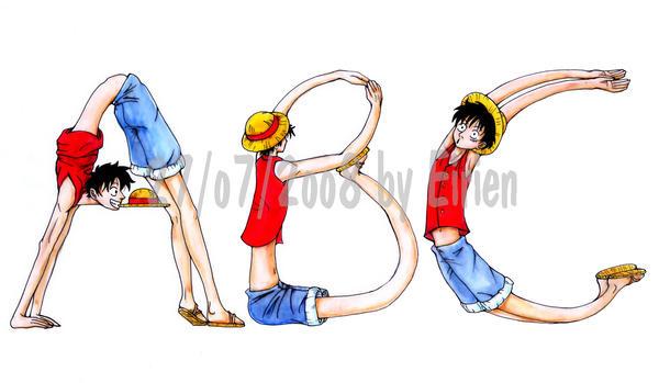 One Piece ABC by Eirieniel