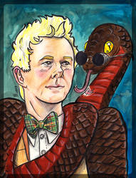Aziraphale and snake