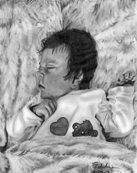 Commission: Baby portrait
