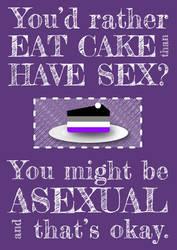 Eat cake not sex