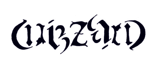 ambigram 'wizzard' by Eirieniel