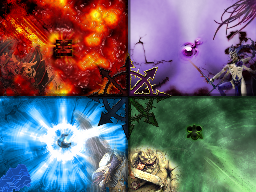 Chaos gods wallpaper by kridily on deviantart - Chaos wallpaper ...