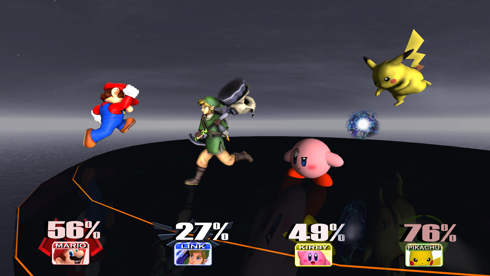 Super Smash Bros 4. VS Battle on Final Destination by PichuThePokemon