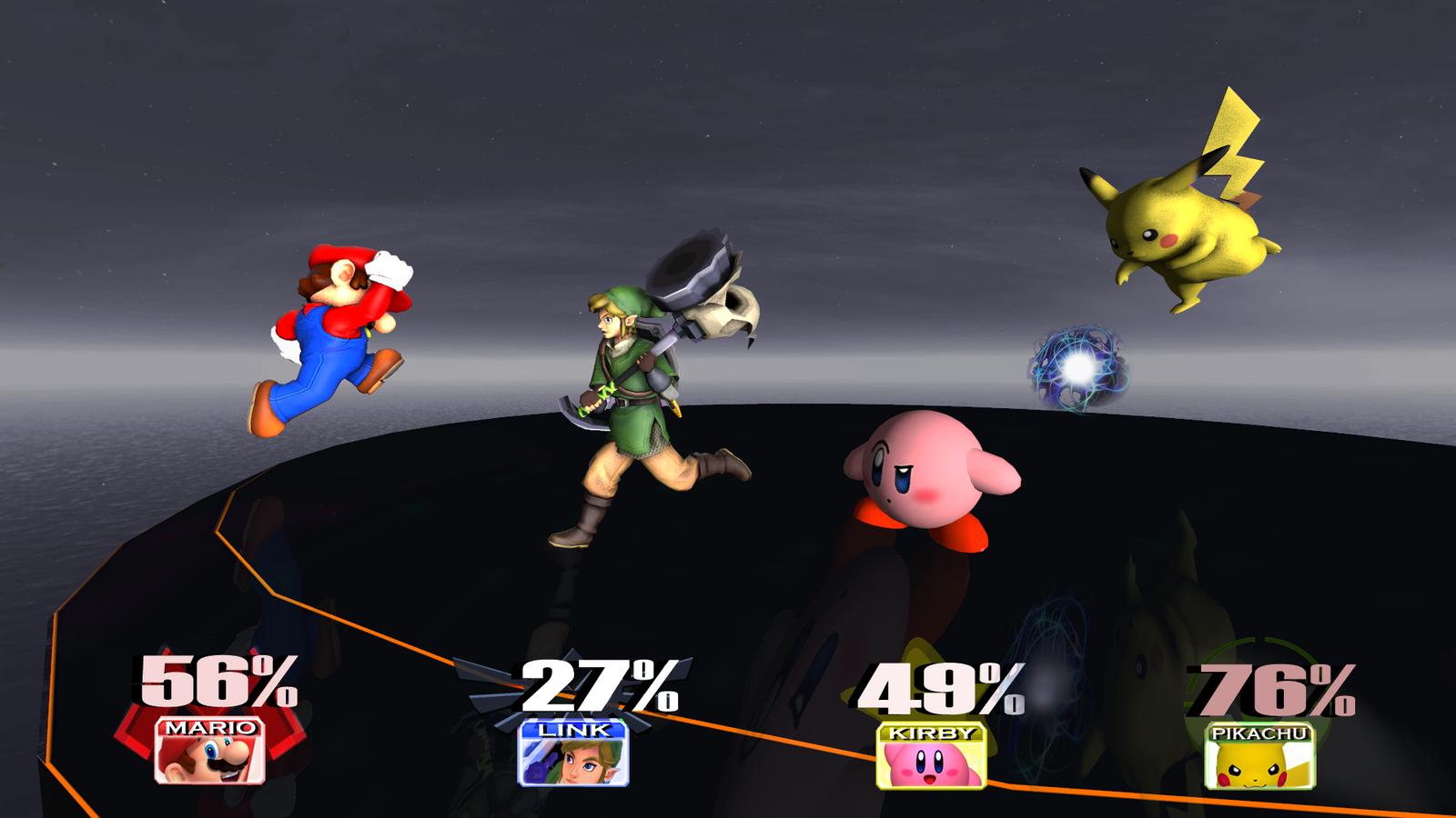 Super Smash Bros 4. VS Battle on Final Destination by PichuThePokemon