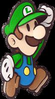 Luigi in Paper Mario: Sticker Star