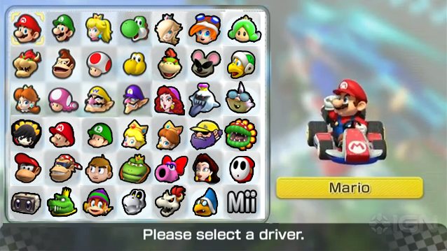 Mario Kart 8 Roster (My wish) by PichuThePokemon on DeviantArt