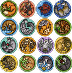 Animal Buttons 2011