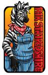 Conbadge - Rik StripedShire