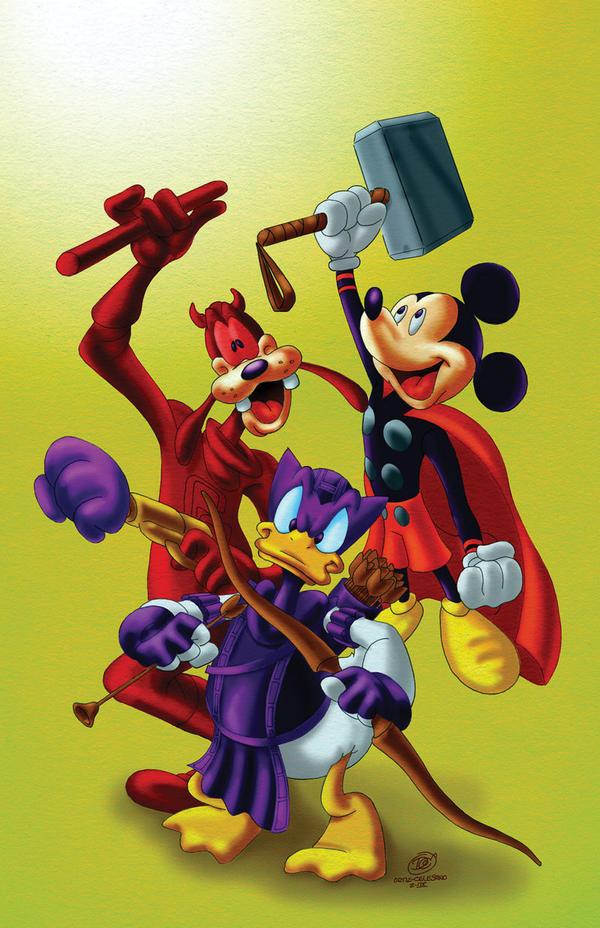 Disney y Marvel by Grandoc