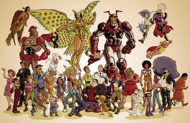 Comic de Mexico by Grandoc