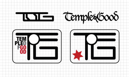 Temple of Good Logo Comps