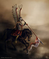 Polish Hussar by Shirvell