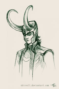 Sometimes you just have to draw Loki