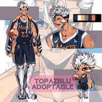 [OPEN] Auction Adoptable {Werewolf} by TopazBlu