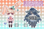 [OPEN] AUCTION ADOPTABLE BATCH 1/2 by TopazBlu