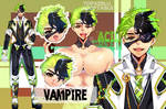 [CLOSED] Adoptable Auction ~ACID GREEN~ VAMPIRE