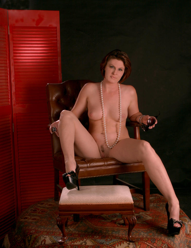 Heather In a big brown dadies chair 5904 by timsumma
