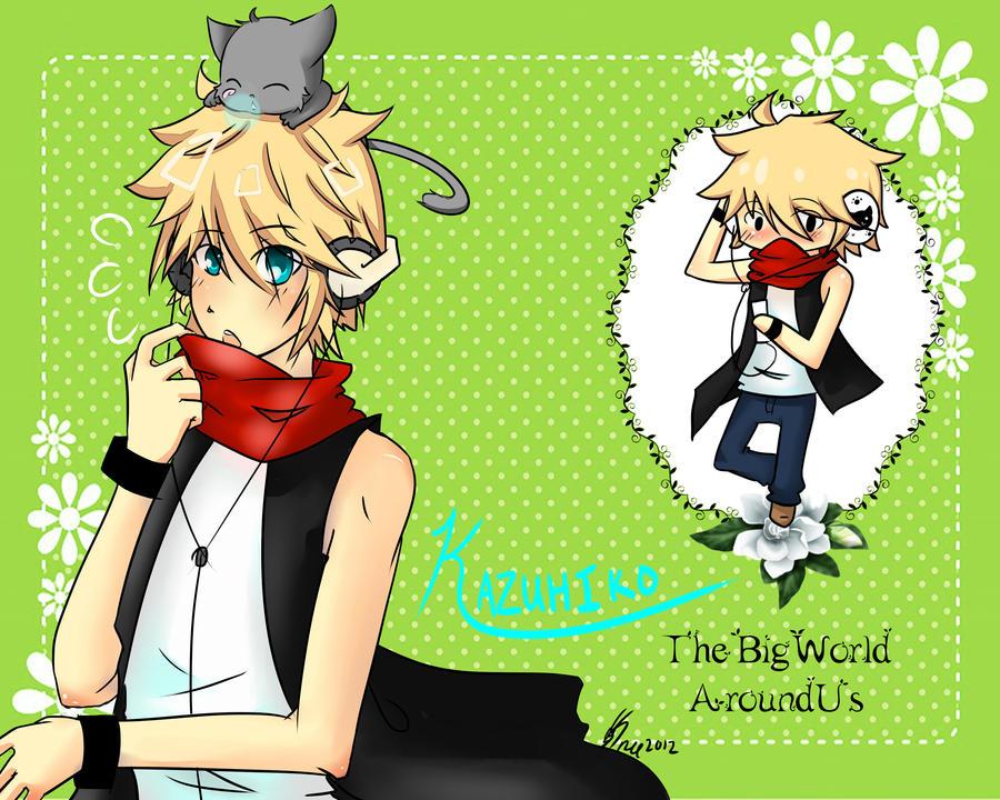 Kazuhiko~the big world around us by SynchroDreams