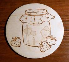 Jar of Jam Coaster