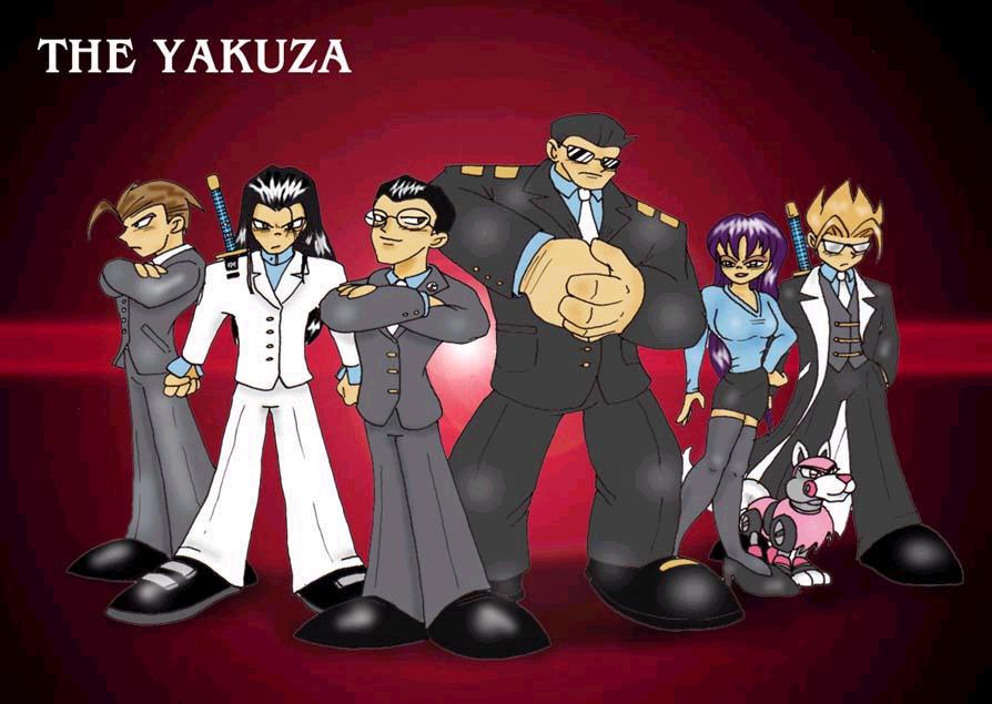 joining the yakuza