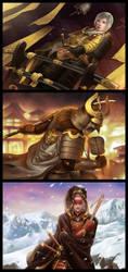 L5R: Emperor Edition Champions by ijur