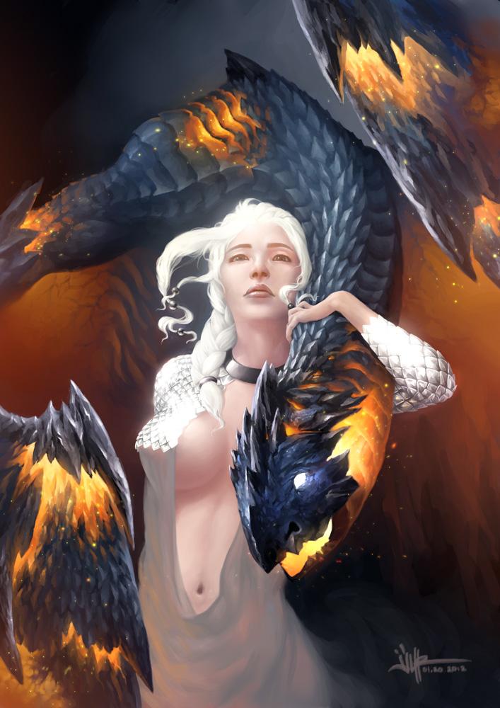 daenerys by ijur