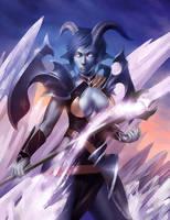 draenei conjuror by ijur