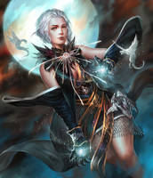 Witch of the Moon Clan by ijur