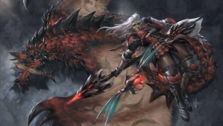 Monster Hunter by ijur