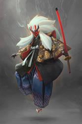 Kabuki Lion by ijur