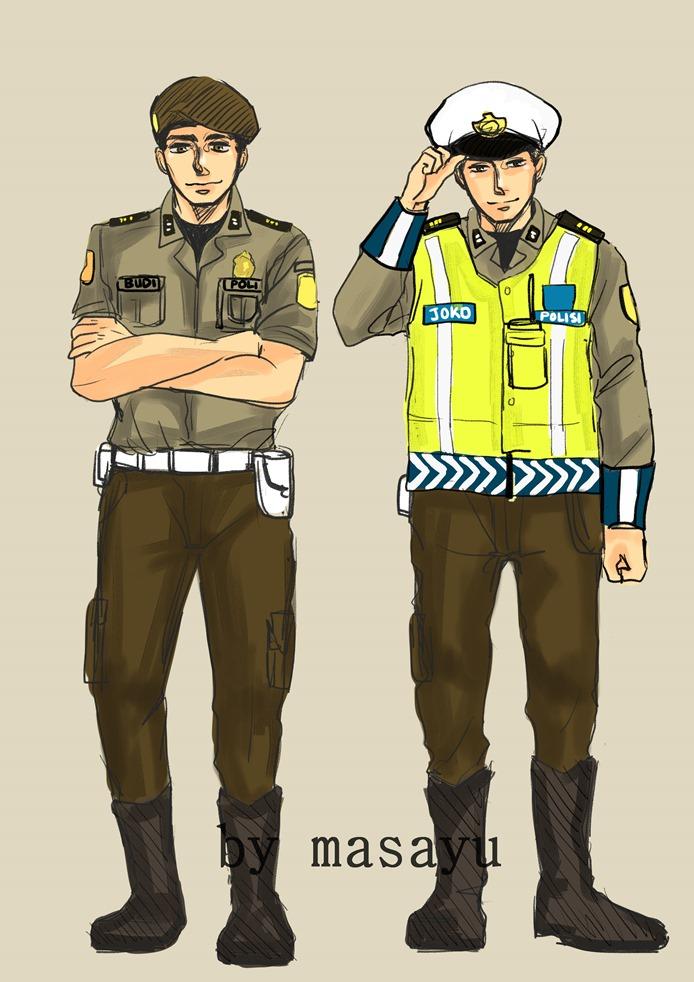 Unduh 3000+ Wallpaper Animasi Polisi