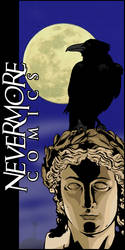 Nevermore Comics Logo by JackAbsinth