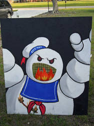 Ghostbusters Themed Toss Game