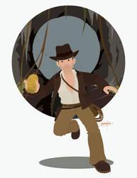 Indiana Jones by JackAbsinth