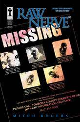 Raw Nerve Issue 2 cover by CelticCrossStudios