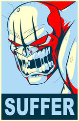 Bogre Suffer Poster