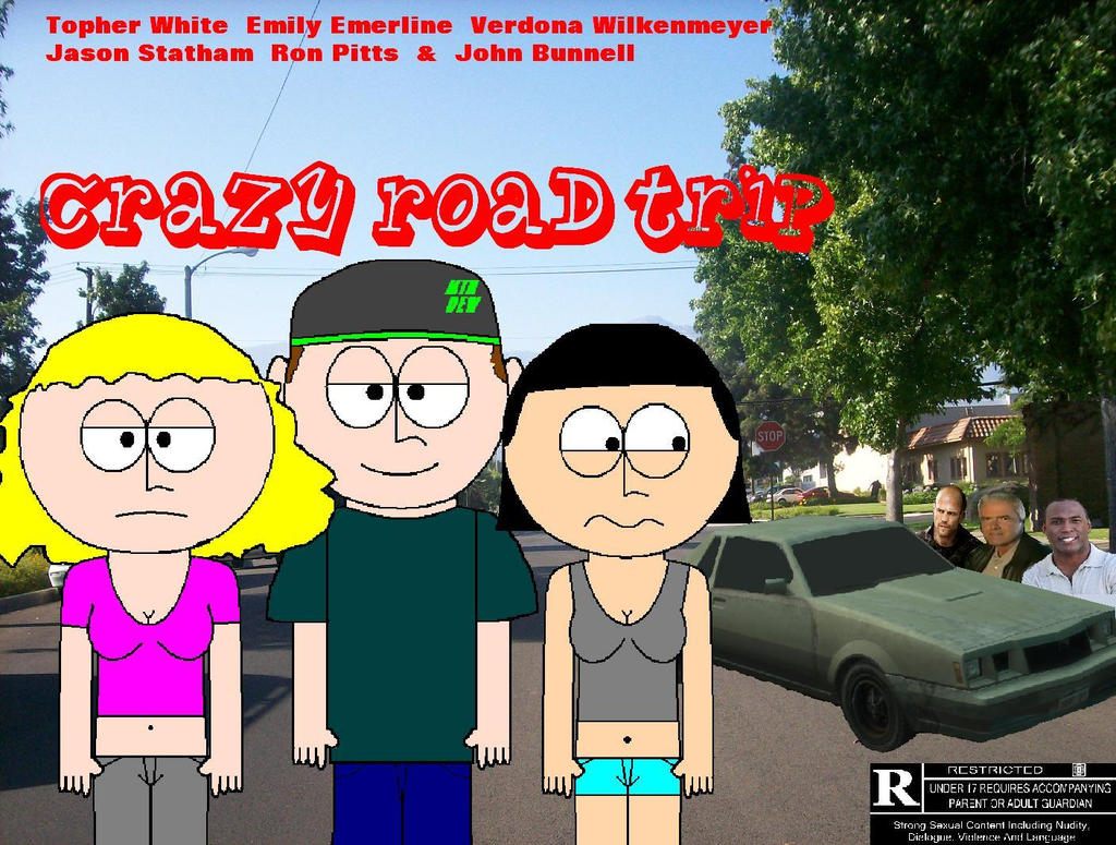My Own Movie Poster CRAZY ROAD TRIP by GopherF27