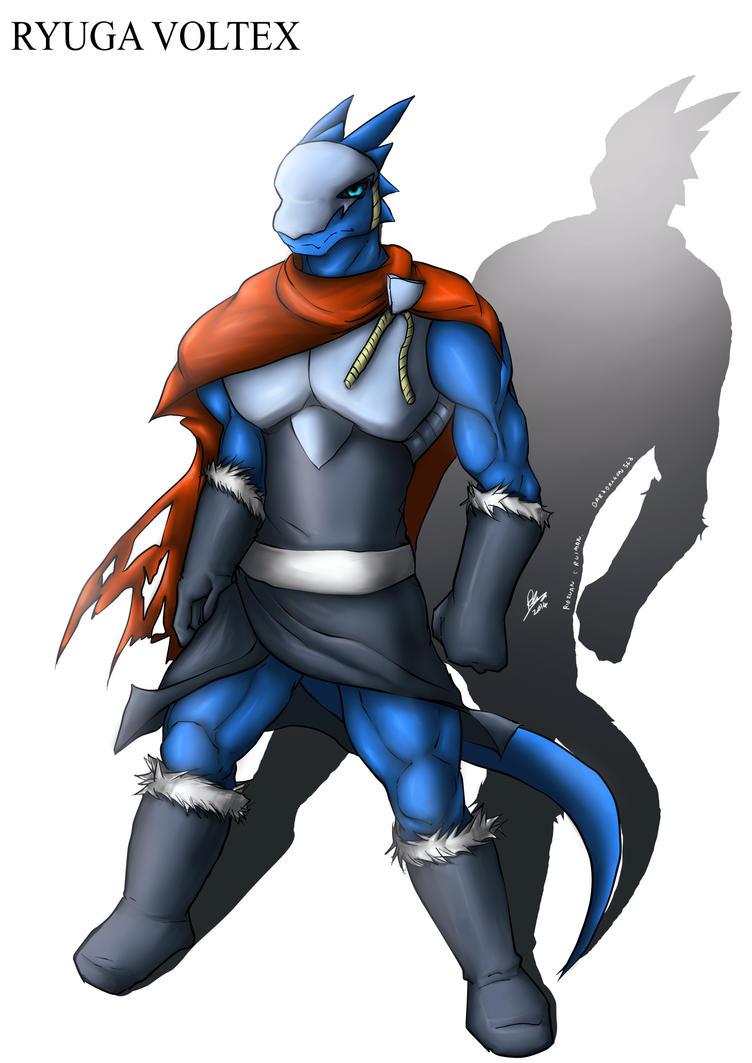Ryuga Voltex by DarkDragon563