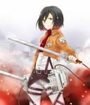 SnK: Mikasa