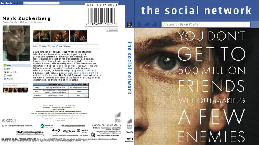 The Social Network DVD Cover by jmariamellinas on DeviantArt