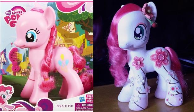 Sakura Matsuri Custom Pony by NoxxBunny